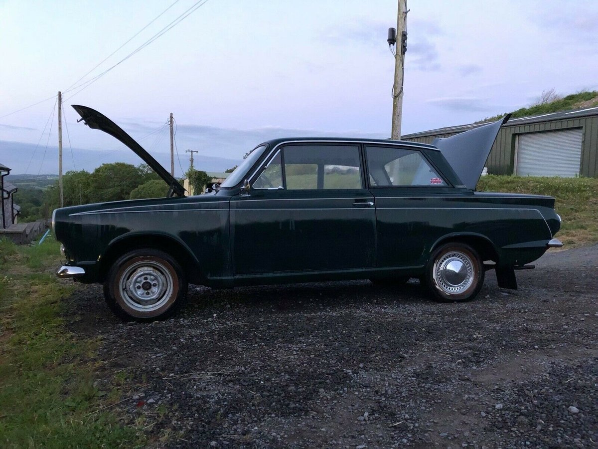 1964 Ford Cortina MK1 2 door LHD Pre Airflow For Sale (picture 3 of 6)