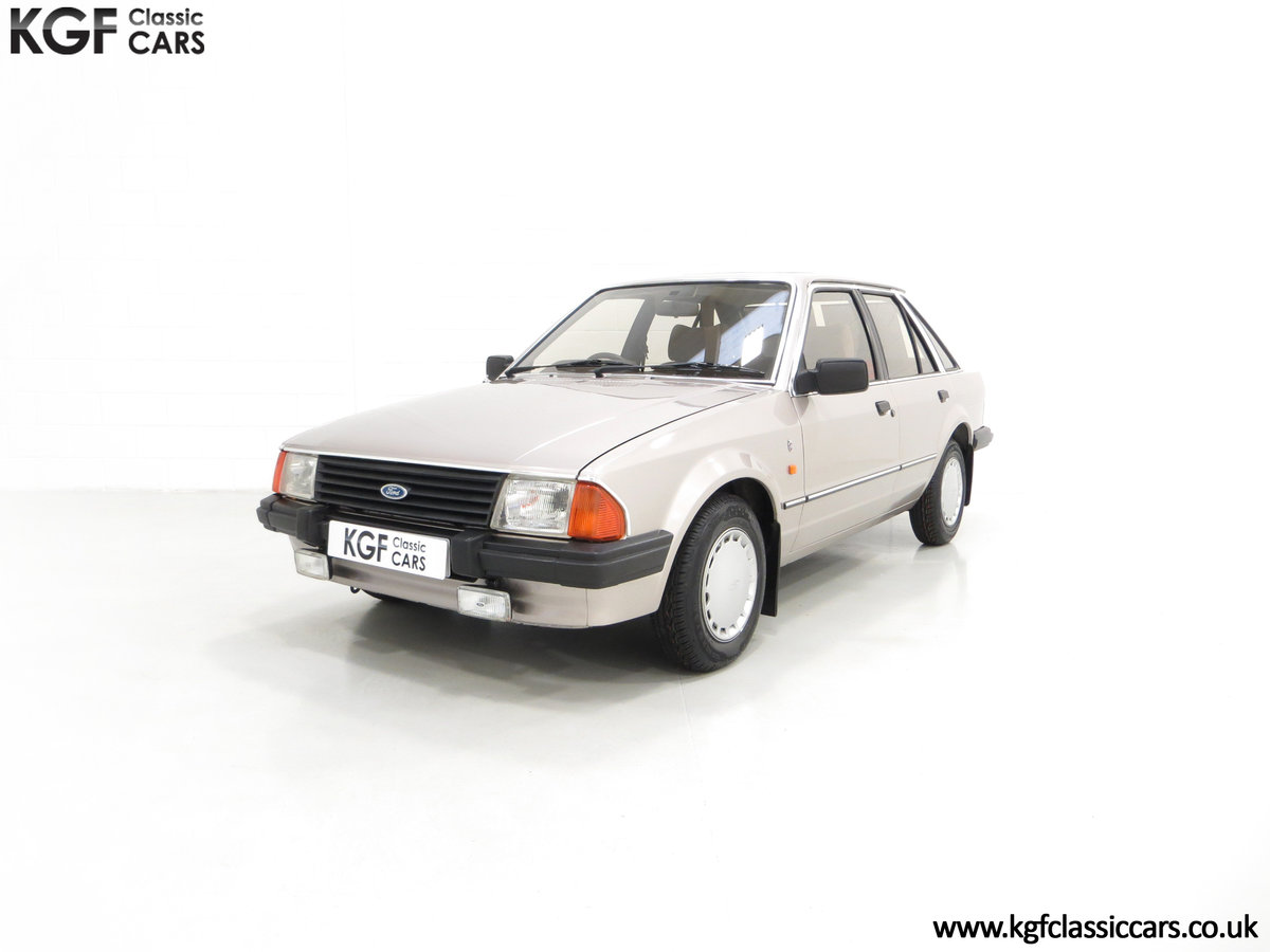 1984 A Fully Loaded Mk3 Ford Escort 1.6 Ghia with 11,887 Miles SOLD (picture 2 of 6)