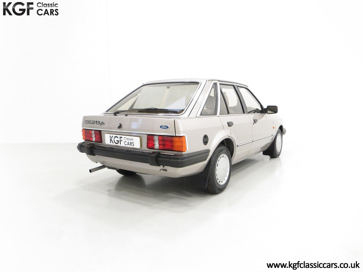 1984 A Fully Loaded Mk3 Ford Escort 1.6 Ghia with 11,887 Miles SOLD (picture 5 of 6)