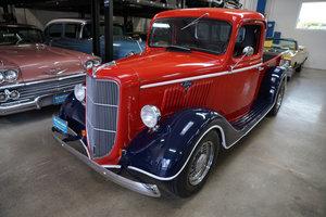 1936 All original steel Ford Flathead V8 Custom Pick Up SOLD