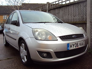 2006 Ford Fiesta Zetec Climate– 1.4 Petrol -5 Door–  With History For Sale