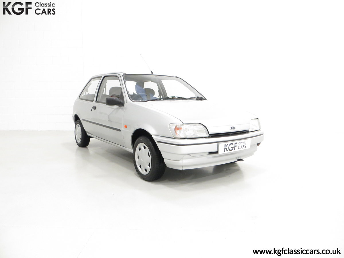 1996 A Ford Fiesta Mk3 Cabaret with 15,210 Miles. For Sale (picture 1 of 6)