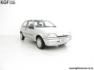 1996 A Ford Fiesta Mk3 Cabaret with 15,210 Miles. SOLD