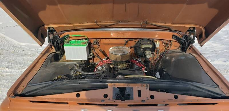 1963 Ford F100 Custom Cab Short Box For Sale (picture 4 of 6)