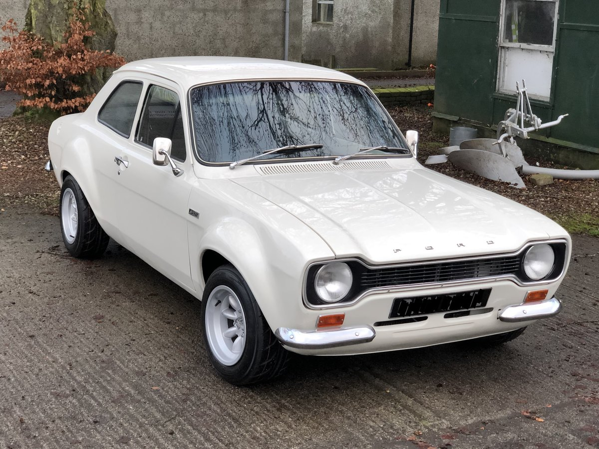 1972 Ford Escort MK 1 RS1600 AVO  For Sale (picture 1 of 6)