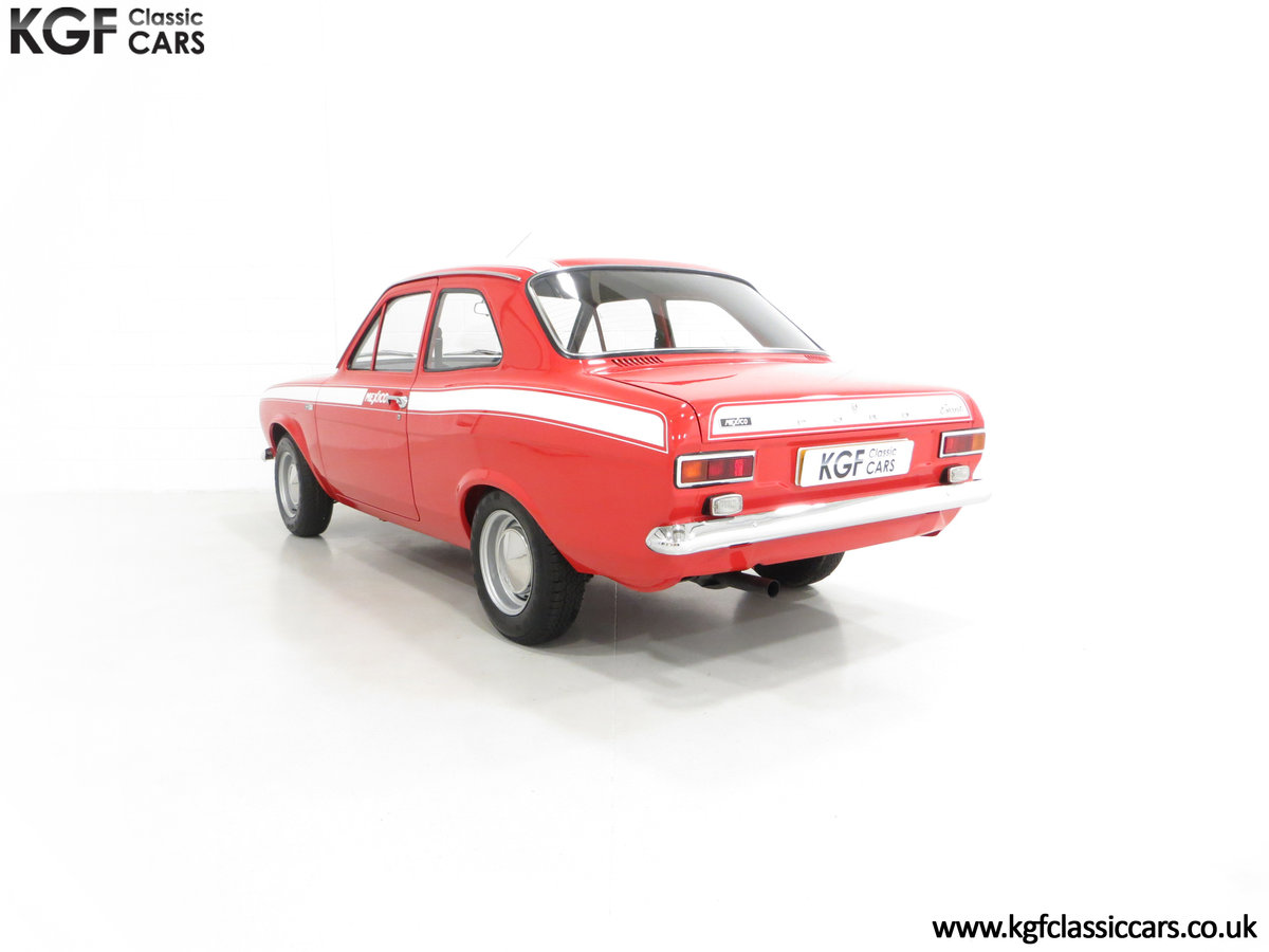 1971 A Fabulous Matching Numbers Mk1 Ford Escort RS Mexico SOLD (picture 4 of 6)