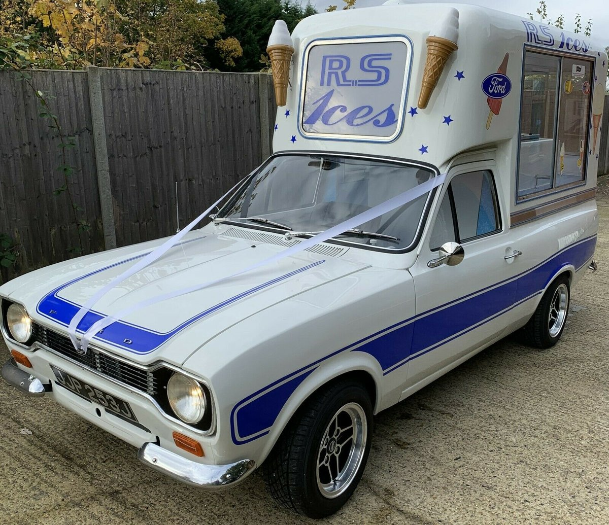 1971 Incredible MK1 Ford Escort Ice Cream Van For Sale (picture 1 of 6)