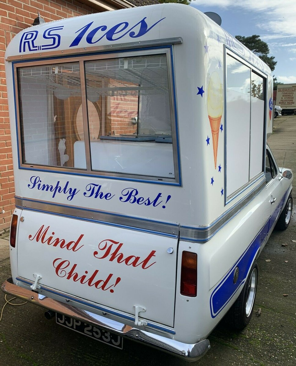 1971 Incredible MK1 Ford Escort Ice Cream Van For Sale (picture 2 of 6)