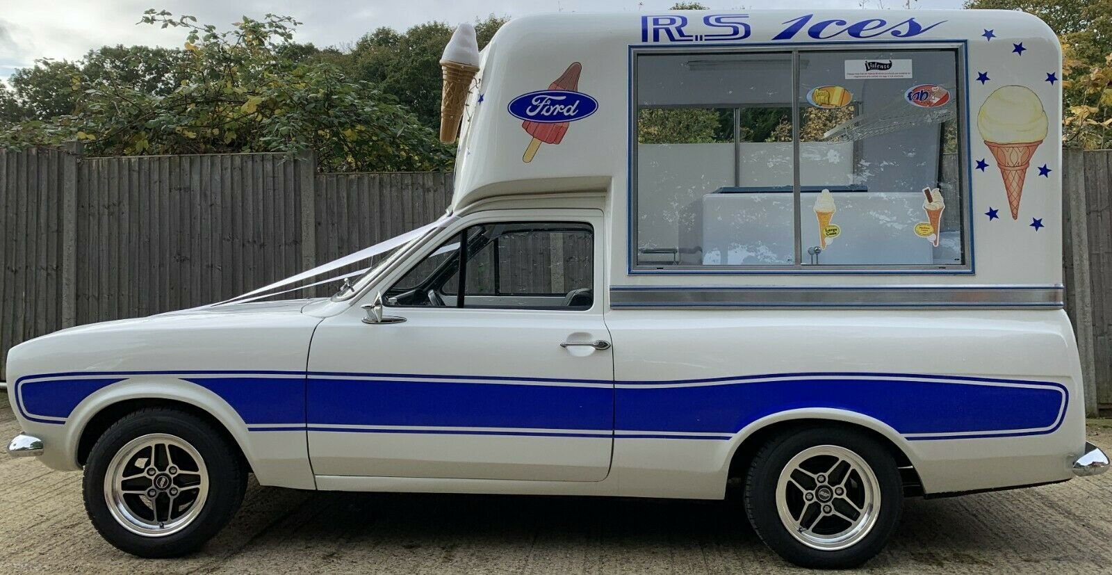 1971 Incredible MK1 Ford Escort Ice Cream Van For Sale (picture 3 of 6)