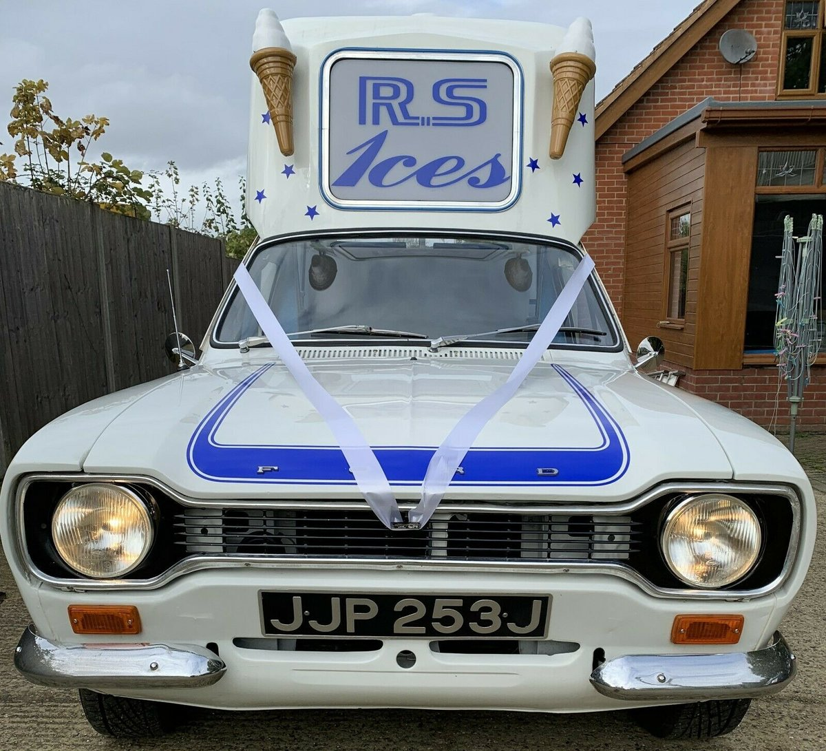 1971 Incredible MK1 Ford Escort Ice Cream Van For Sale (picture 4 of 6)