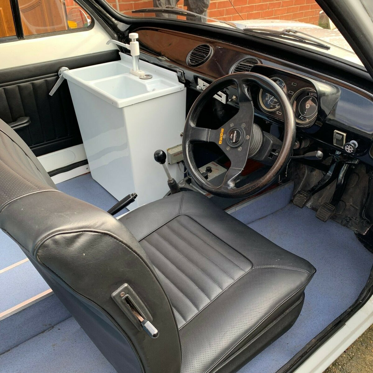 1971 Incredible MK1 Ford Escort Ice Cream Van For Sale (picture 6 of 6)