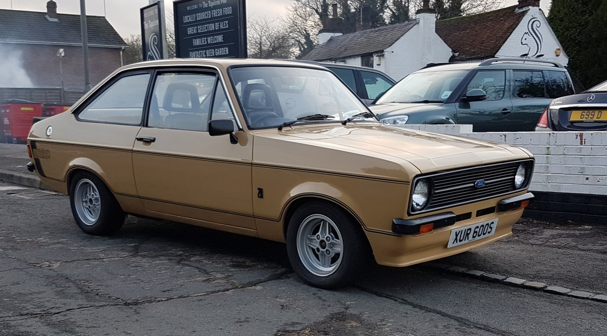 1978 Escort 2.0 Mexico Tribure For Sale (picture 1 of 6)