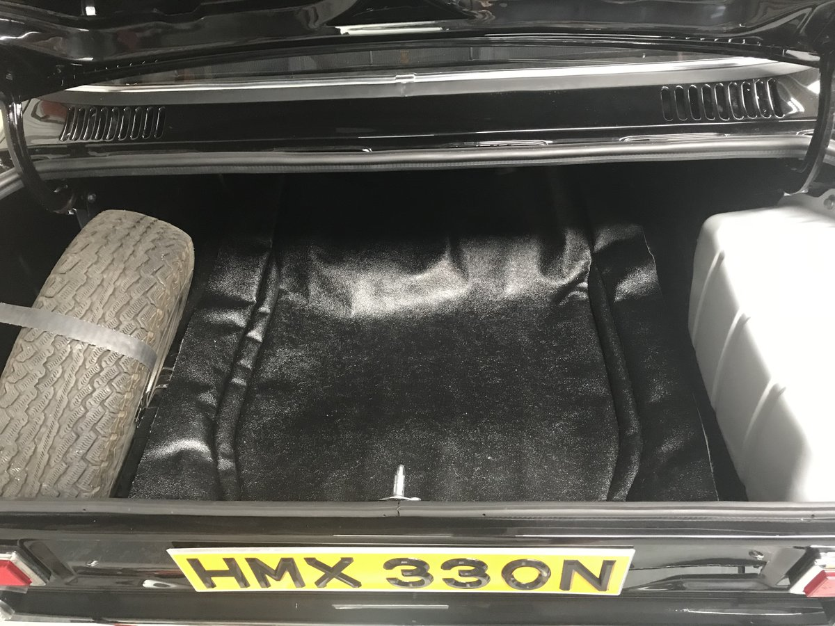 1975 Ford Escort RS 2000 MK1.Stunning Car Rare Factory Black. For Sale (picture 5 of 6)