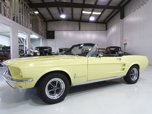 Springtime Yellow 1967 Ford Mustang Convertible  For Sale