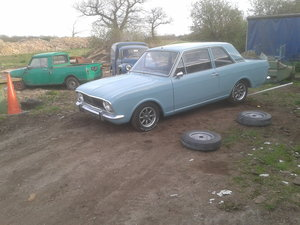 1968 Series One MK2 1600 Ford Cortina  2-DOOR For Sale