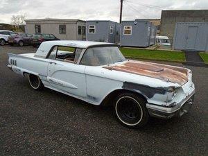 FORD THUNDERBIRD 352 V8 AUTO HARDTOP(1960)  SOLD