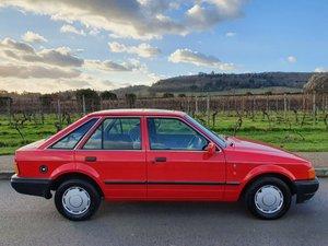 1990 Ford Escort Ghia 1.3 69K FSH MOT'd For Sale