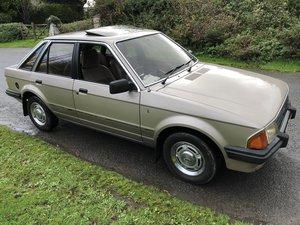1983 Ford Escort 1.6 Auto Ghia. For Sale