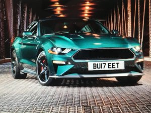 Ford Mustang Bullitt Edition Number Plate For Sale