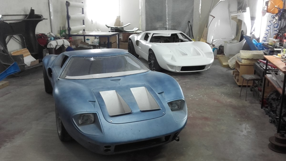1966 GT 40 replica body rolling chassis standard kit For Sale (picture 1 of 6)