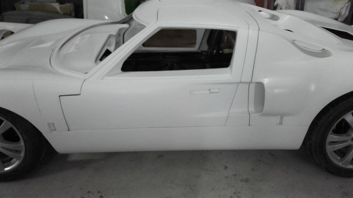1966 GT 40 replica body rolling chassis standard kit For Sale (picture 6 of 6)