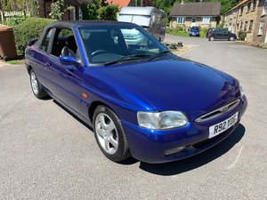 1998 Ford Escort Ghia Cabrio For Sale by Auction