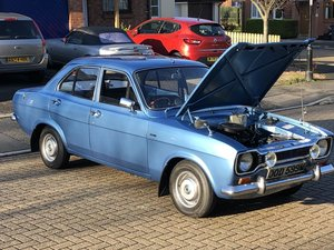 1974 Fully restored Ford Escort 1300 L - 11k since new