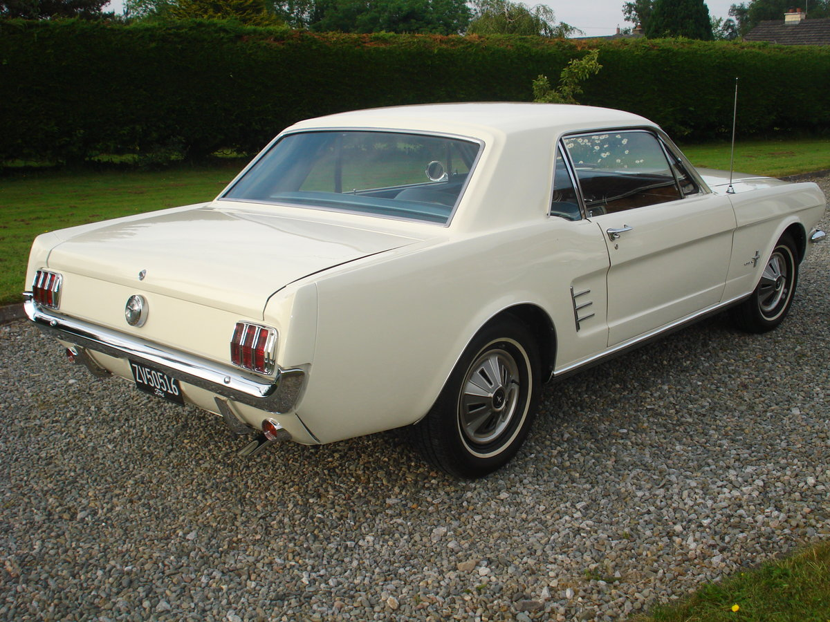 1966 Ford mustang manual, straight six. 3.3 cid. For Sale (picture 3 of 6)