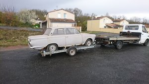 1964 Forf cortina mk1 2dr For Sale