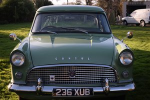 1958 FORD CONSUL HIGHLINE - EARLY MODEL, LOVELY ALL ROUND! SOLD