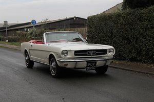 1965 Ford Mustang Convertible, 260ci V8, Manual