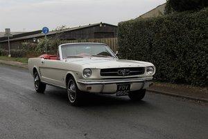 1965 Ford Mustang Convertible, 260ci V8, Manual