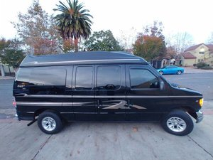 1999 Ford E150 Conversion Van Camper RV Loaded Remte-Start $8.9k