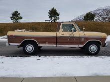 1976 Ford F250 Ranger XLT Pickup Truck 460 AT AC PS RWD For Sale