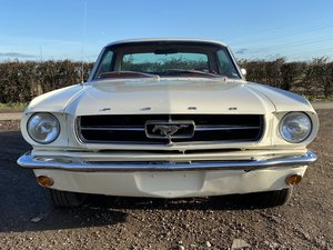 1965 Wimbledon White V8 Ford Mustang Auto For Sale