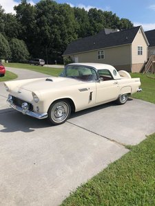 1956 Ford Thunderbird (Jefferson City, TN) $34,999 obo