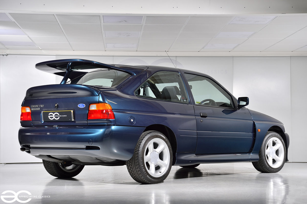 1993 Original Escort RS Cosworth - 2K Miles - Annual Ford History For Sale (picture 3 of 6)