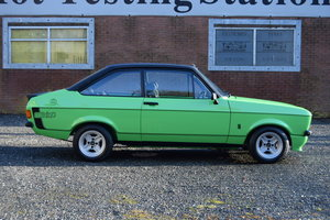 1978 Ford Escort RS Mexico, Better Than New...Stunning! SOLD