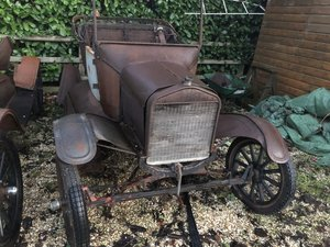 Vintage Veteran 1923 Ford Model T 2 Seat Roadster Project