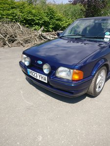 1990 Ford escort XR3i MK4 se500 ALL BLUE open to offers