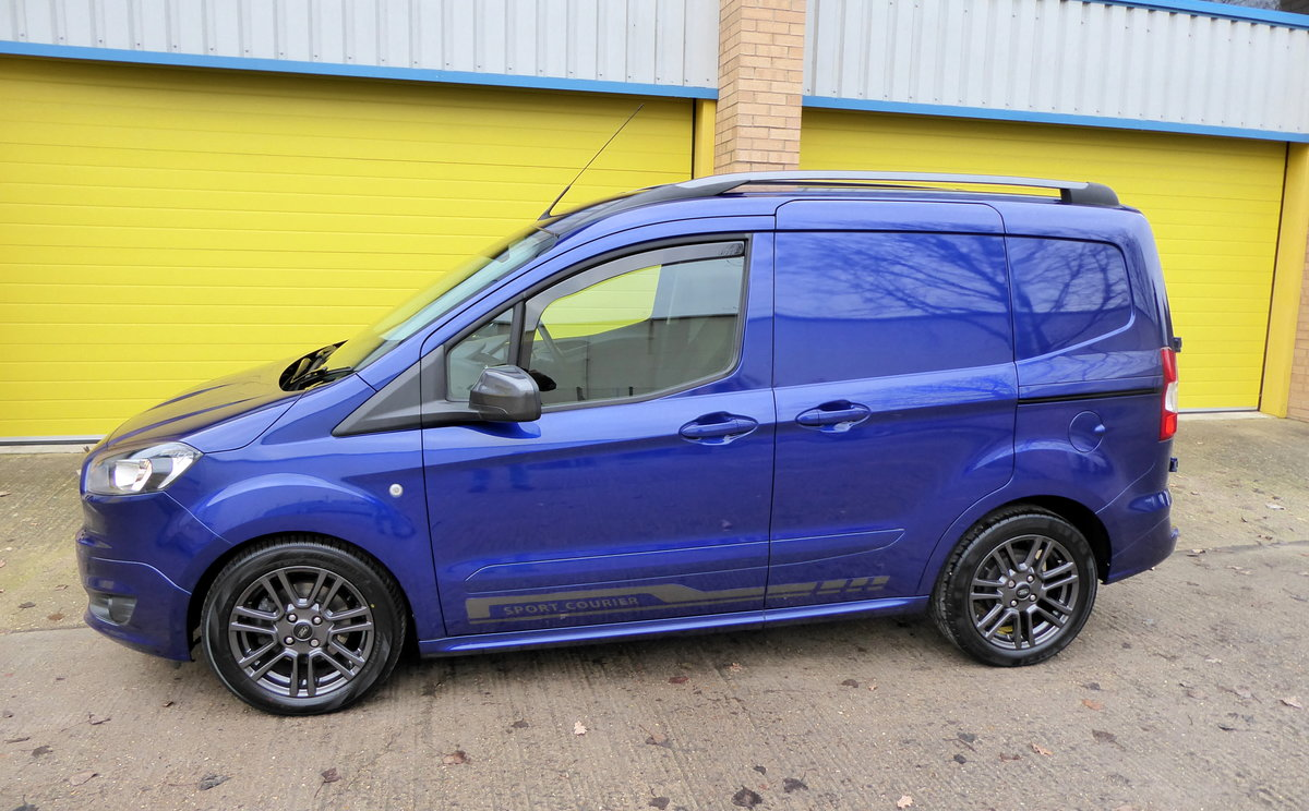 Ford Transit Courier 1.5 TDCI 95 SPORT Van. 2018 * NO VAT * For Sale (picture 1 of 6)