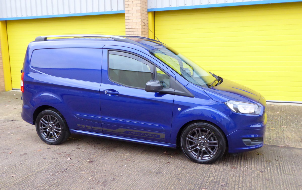 Ford Transit Courier 1.5 TDCI 95 SPORT Van. 2018 * NO VAT * For Sale (picture 5 of 6)
