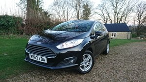 2014 One lady owner, full s/h, fiesta zetec eco boost For Sale
