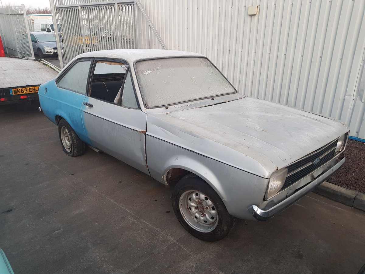 1980 Ford Escort 1600 Sport Rolling Shell For Sale (picture 2 of 6)
