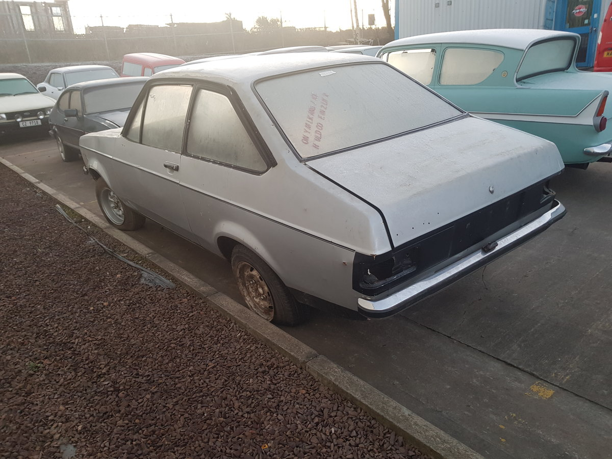 1980 Ford Escort 1600 Sport Rolling Shell For Sale (picture 3 of 6)