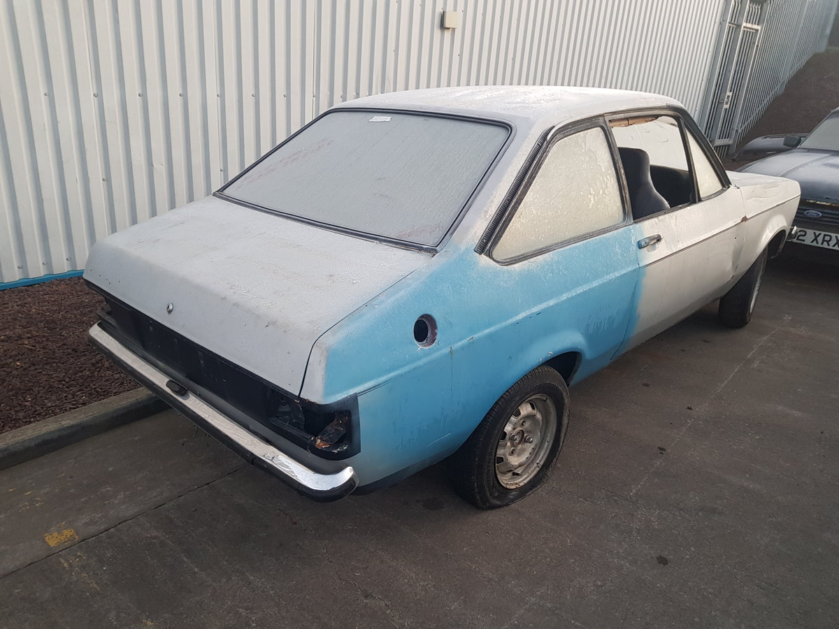 1980 Ford Escort 1600 Sport Rolling Shell For Sale (picture 4 of 6)