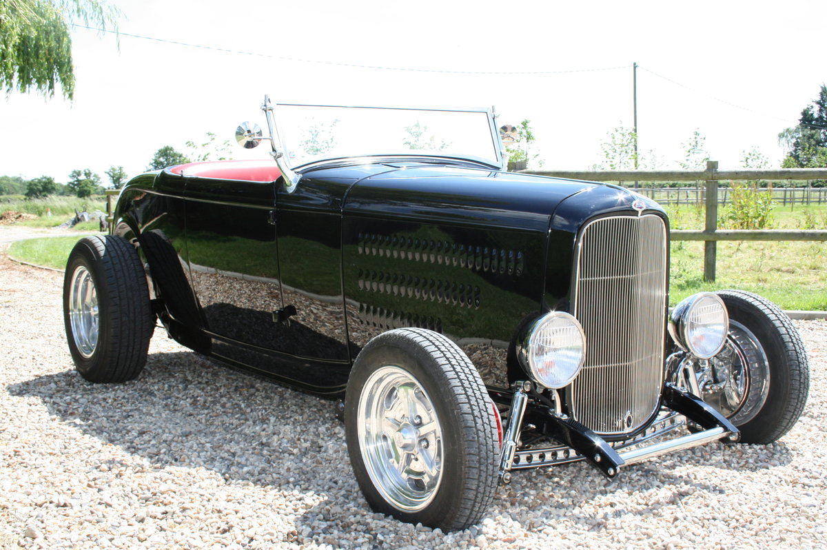 1932 Ford Model B Highboy Roadster V8 Hot Rod,All Steel Body For Sale (picture 5 of 6)
