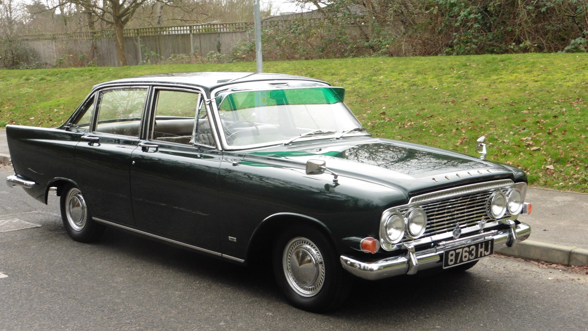 1963 Ford Zodiac MK3  Goodwood Green Just 49000 Miles Exceptional SOLD (picture 1 of 6)