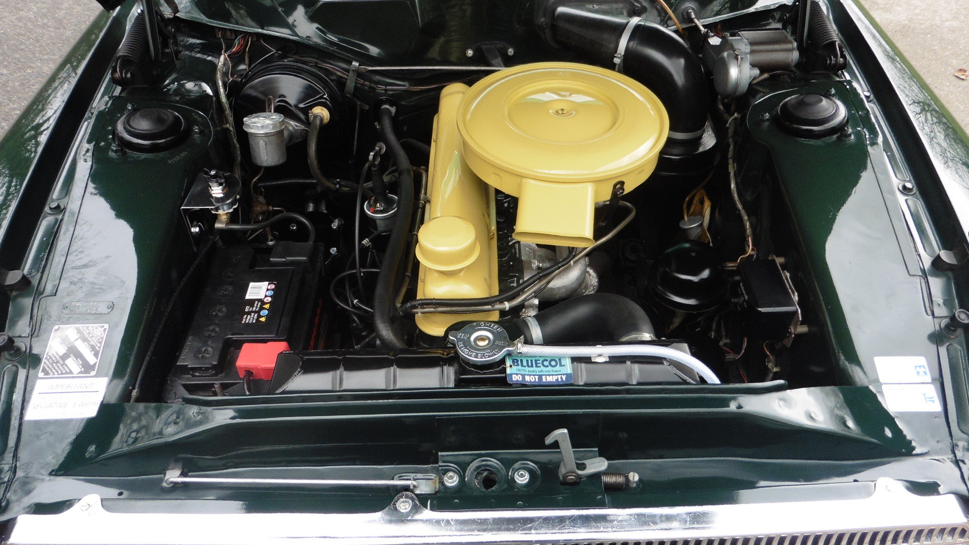 1963 Ford Zodiac MK3  Goodwood Green Just 49000 Miles Exceptional SOLD (picture 5 of 6)