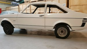 Ford Escort 1600 Sport - 1980, 2 door Rolling Shell. For Sale